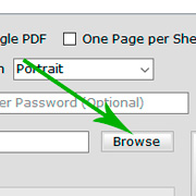 Excel to PDF Conversion Settings
